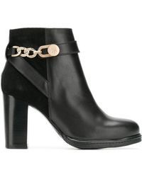 Tommy Hilfiger - Leather Ankle Boots - Lyst