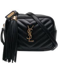 Saint Laurent - Leather Belt Bag - Lyst