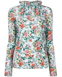 Golden Goose Deluxe Brand - Floral Print Blouse - Lyst