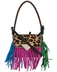 a4604e9631de Lyst - Givenchy Fringed Shoulder Bag in Yellow - Save ...