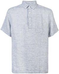 Onia - Josh Linen Pullover Shirt - Lyst