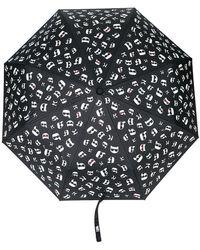 Karl Lagerfeld - K/ikonik Print Umbrella - Lyst