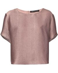 Sally Lapointe - Printed T-shirt - Lyst