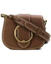 Polo Ralph Lauren - Buckled Saddle Bag - Lyst