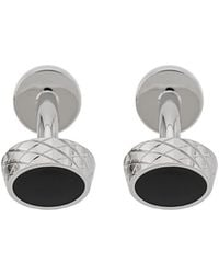 BOSS - Round Cufflinks - Lyst