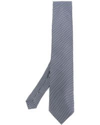 Etro - Geometric Embroidered Tie - Lyst
