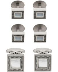 Tateossian - Square Cufflinks - Lyst