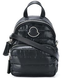 Moncler - Quilted Shelled Backpack - Lyst