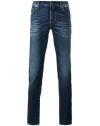 Jacob Cohen - Stonewashed Denim Jeans - Lyst