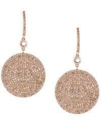 Astley Clarke - Large 'icon' Diamond Drop Earrings - Lyst