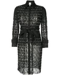 Huishan Zhang - Embellished Fitted Coat - Lyst