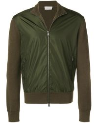 Moncler - Zipped Up Cardigan - Lyst