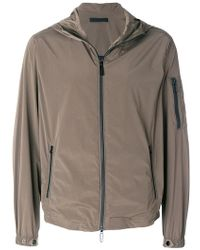 Paolo Pecora - Zipped Hooded Jacket - Lyst