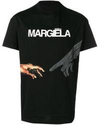 Maison Margiela - 10 Logo Print Tee - Lyst