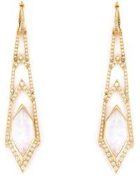 Stephen Webster - 'crystal Haze' Long Diamond Earrings - Lyst