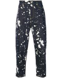 3.1 Phillip Lim - Paint Splatter Jeans - Lyst