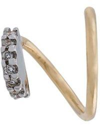 Maria Black - Lila Blanc Diamond Earring (left) - Lyst