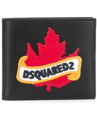 DSquared² Porte-cartes à logo - Noir