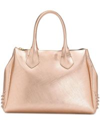Gum - Large Stud Detailed Tote Bag - Lyst