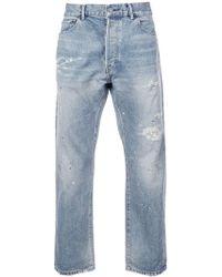 John Elliott - 'Painter Repair' Jeans - Lyst
