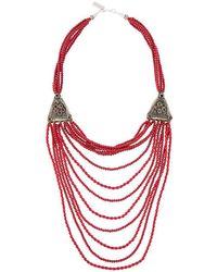 Night Market - Long Beaded Necklace - Lyst