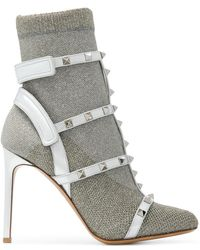 Valentino - Garavani Rockstud Boots - Lyst