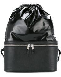Maison Margiela - Panelled Drawstring Backpack - Lyst