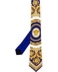 "Versace Krawatte mit ""Barocco""-Print"