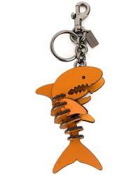 COACH - Shark Keyring - Lyst