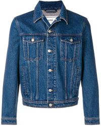 AMI - Denim Jacket - Lyst