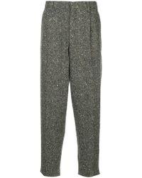 Kolor - Melange Tapered Trousers - Lyst