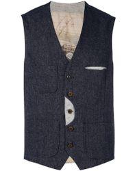 Al Duca d'Aosta - Patch Pocket Waistcoat - Lyst