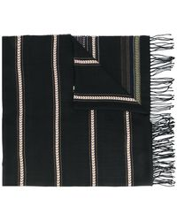 Dondup - Pattern Fringed Scarf - Lyst