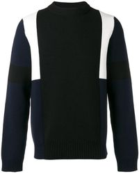 Marni - Colour Block Knitted Jumper - Lyst