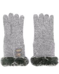 N.Peal Cashmere - Fur Trim Gloves - Lyst