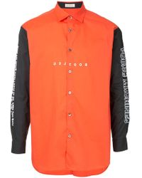 Education From Young Machines - Embroidered Shirt - Lyst