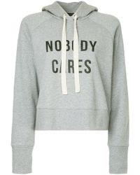 Nobody Denim - Nobody Cares Hoody Cinder - Lyst