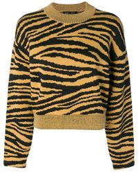 Proenza Schouler - Tiger Jacquard Sweater - Lyst