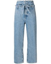 Current/Elliott - Jeans crop 'Corset' - Lyst