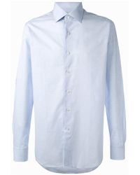 Xacus - Classic Cut Button-up Shirt - Lyst