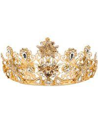 Dolce & Gabbana Embellished Crown