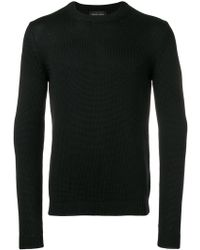 Roberto Collina - Long-sleeve Fitted Sweater - Lyst