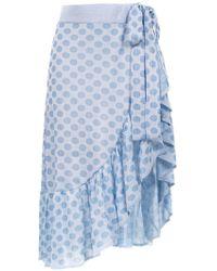 Cecilia Prado - Chanel Ruffled Skirt - Lyst