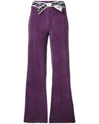 Champion - Bow Ribbon Flared Trousers - Lyst