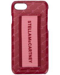Stella McCartney - Funda para iPhone 7/8 con logo estampado - Lyst