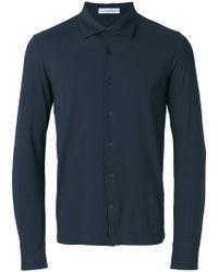 Cruciani - Classic Button Shirt - Lyst