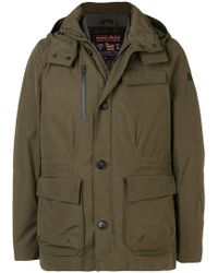 Woolrich - Hooded Down Jacket - Lyst