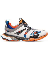 Balenciaga - Multicoloured Track Sneakers - Lyst