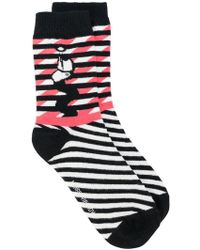 Henrik Vibskov | Colour Block Striped Socks | Lyst