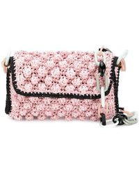 M Missoni - Bubble Knit Chain Bag - Lyst